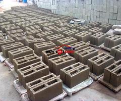 6 inches solid sandcrete blocks for sale                          R0175