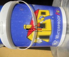 Waterproof paints for sale  ( bucket)                         R0134