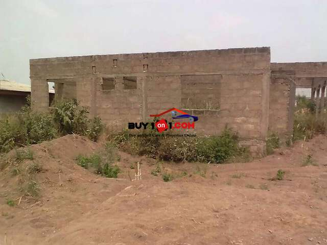 uncompleted house for sale