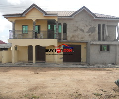 five bedroom story building  Kasoa down town       RU045